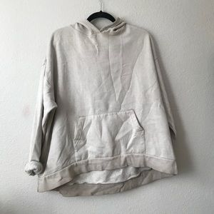 Urban outfitters tan ombré hoodie
